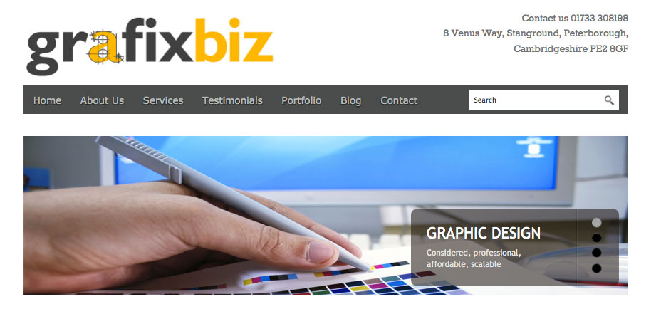 Grafixbiz new look