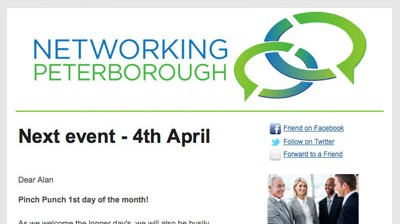 Networking Peterborough - email marketing