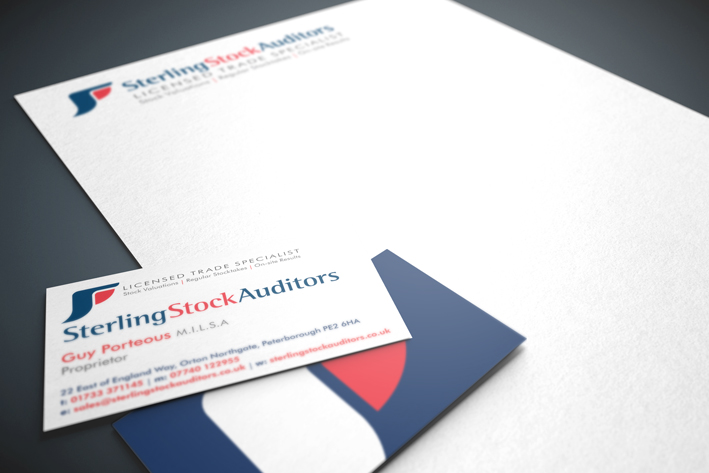 Sterling Stock Auditors Stationery