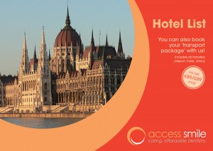 Access Smile Hotel Price list