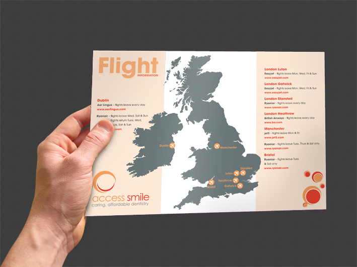 Access Smile Flight Info