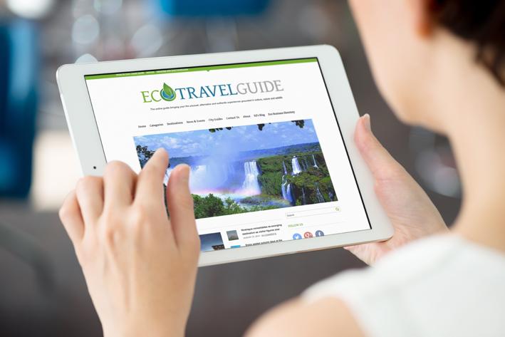 Eco Travel Guide website