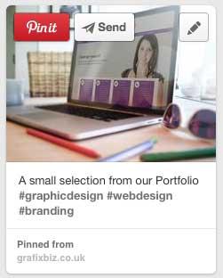 Pinterest portfolio