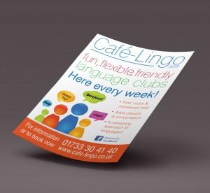Cafe Lingo Poster