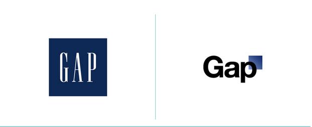 Gap logo redesign fail
